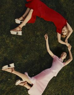 Mariacarla Boscono, Natalia Vodianova by Harley Weir for Stella McCartney Spring Summer 2016 00
