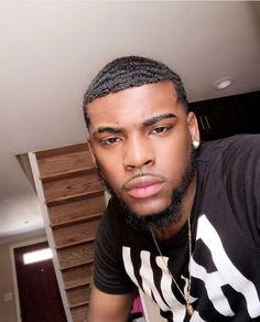 "Samson from ""Phobos"" V. Men In Black, Gorgeous Black Men, Cute Black Guys, Just Beautiful Men, Handsome Black Men, Black Boys, Fine Boys, Fine Men, Dark Skin Boys"