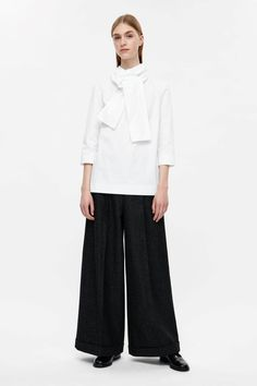 COS | Top with twisted tie detail