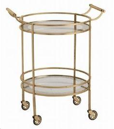 Make Mine a Double: Bar Cart Fantastic | Return to Home Interiors