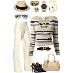 Sweater & slacks casual business wear - Polyvore