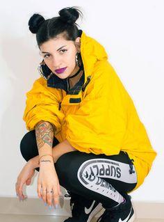 Cazzu Trap Queen, Normal Is Boring, King Queen, Urban Fashion, Girl Crushes, Baddies, Fangirl, Hip Hop, Bomber Jacket