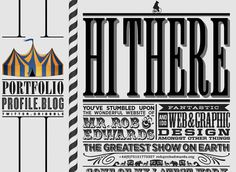 40 Examples of Beautiful Typography in Web Design - Web Design Ledger Design Web, Portfolio Web Design, Web Design Company, Design Blog, Graphic Design, Online Portfolio, Design Ideas, Portfolio Website, Book Design