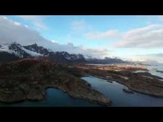 Surfing the Arctic Ocean - Gore-Tex Experience Tour 2016 Lofoten Islands, Norway - DJI Phantom 4 - YouTube