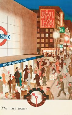 London Underground poster by London Transport Museum (LTM)
