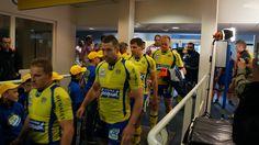 Entrée des joueurs auvergnats Stade Marcel Michelin ASM Clermont Auvergne