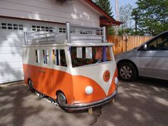 VW Bus bed for kids