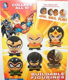 DC Superhero Batman Superman Justice League Buildable Figure Set Toy with Aquaman, Cyborg, Wonder Woman Etc and Special Logo Eraser DC Comics http://www.amazon.com/dp/B00WT5I8E4/ref=cm_sw_r_pi_dp_92wiwb1F4FZ7N