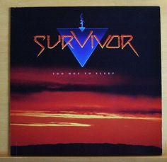 SURVIVOR Too hot to sleep Vinyl LP Burning Bridges I didn t know it was Love RAR
