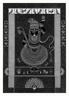 Worli Painting, Art Painting Gallery, Pichwai Paintings, Indian Art Paintings, Indian Traditional Paintings, Madhubani Art, Madhubani Painting, Kalamkari Painting, Indian Folk Art