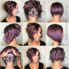 Amazing colour, cut and style Love this hair