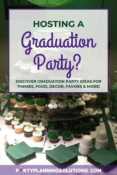 It's only right that you want to make the party as memorable as possible for your graduate and the guests. If you're feeling overwhelmed at the thought of planning your upcoming graduation party, not to fret! We've got some graduation party ideas to get you off to a great start! #graduationpartyideas #graduationparty #partyideas #partyplanning #gradparty