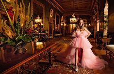Anna Ewers Stuns in Haute Couture Gowns for Vogue Paris