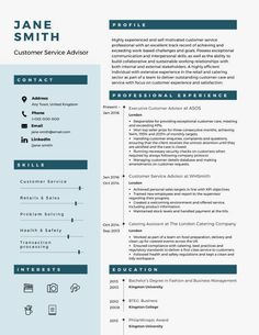 Basic resume examples to make your CV professional. All of these visual resume examples come with a matching cover letter and reference page. Simple Resume Examples, Professional Resume Examples, Cv Examples, Visual Resume, Job Hunting Tips, Sales Resume, Work Relationships, References Page, Resume Template Free