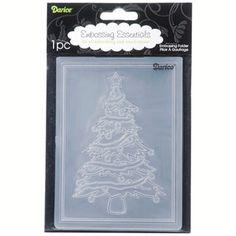 Darice® 4.25 x 5.75 Embossing Folder: Christmas Tree