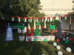 44th UAE Day Uae National Day, Dubai, Crafts For Kids, Activities, Table Decorations, Crafts For Children, Kids Arts And Crafts, Kid Crafts, Dinner Table Decorations