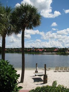 Disney's Caribbean Beach Resort.  September 2011....so peaceful!
