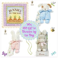 Give Glad Dreams With Bunnies By The Bay! This fantastic giveaway is Sponsored by Bunnies By The Bay and Hosted By Mom Does Reviews. Bunnies by the Bay are launching 75+ new products this Spring and they want to make sure you get a chance to grab your...