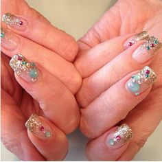 my nails today! Love spa nails in Tulsa | Beauty | Pinterest ...