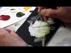 「石田和美のトールペイント ローズコレクション」ラウンドスウィート - YouTube