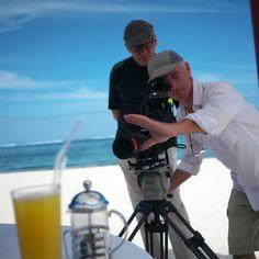 Photos de tournage du prochain film de Beachcomber   Photo-shooting of the new Beachcomber film   By Eric Genillier   At Dinarobin Hotel Golf & Spa