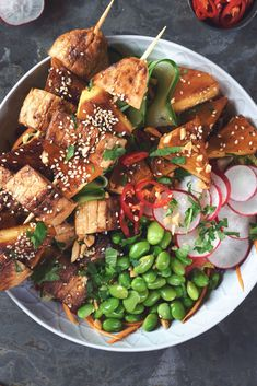 Summer days and BBQ are a match made in heaven. Make this BBQ Teriyaki Buddha Bowl with Quorn Fillets Pineapple for protein and flavour. Healthy Bbq Recipes, Quorn Recipes, Easy Pork Chop Recipes, Veggie Recipes, Summer Recipes, Vegetarian Recipes, Quorn Foods, Healthy Meals, Healthy Food