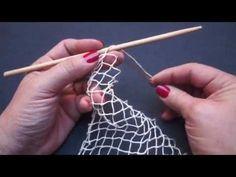 Randa handmade lace how it is made como se hace – Artofit Crochet Motifs, Tunisian Crochet, Filet Crochet, Irish Crochet, Crochet Lace, Crochet Patterns, Crochet Snood, Diy Lace Doily Bowl, Lace Doilies