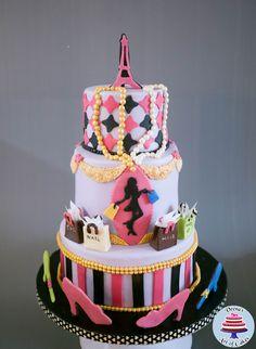 Paris Fashion cake