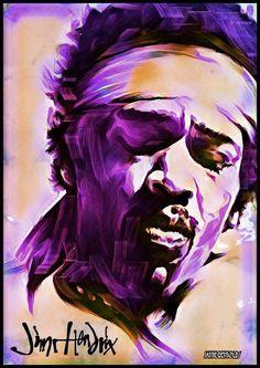 Jimi Hendrix Art Pop Art Images, Music Images, Rock Posters, Concert Posters, Jimi Hendrix Poster, Pink Floyd Art, Jimi Hendrix Experience, Psychedelic Music, Music Artwork