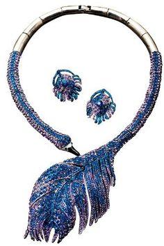 Crystal Peacock Feather Necklace Set, Color: Blue PacificPlex,http://www.amazon.com/dp/B009AK82DI/ref=cm_sw_r_pi_dp_31ckrb0G4Y4GV024