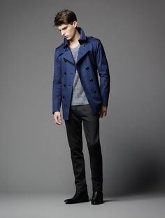 Paolo Anchisi Models Burberry Black Labels Spring/Summer 2013 Collection