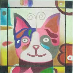 Cat 2 (hand painted canvases)