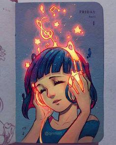 La Galaxia y La Musica combinación perfecta.