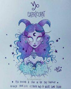 Artista cria lindas ilustrações dos signos do zodíaco!