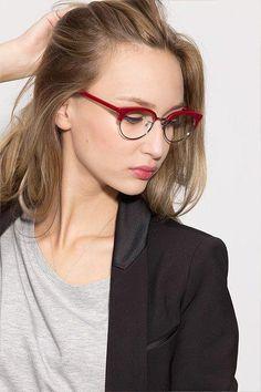 0a7d99bb8dc6d Red Browline Prescription Eyeglasses-Medium Full-Rim Acetate Eyewear-Annabel   WomensFashionGlasses