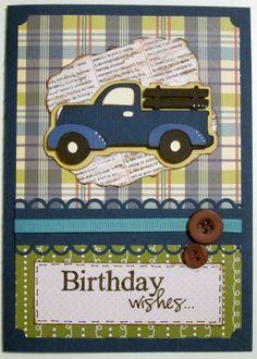 BugBites: A Masculine Birthday card