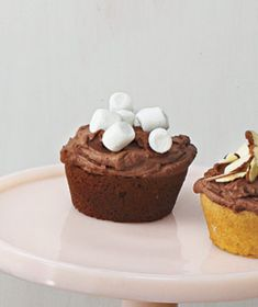 Chocolate Cupcakes With Chocolate Ganache Frosting and Mini ...
