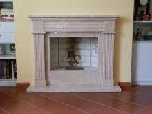 Risultati immagini per cornici camino marmo BRESCIA
