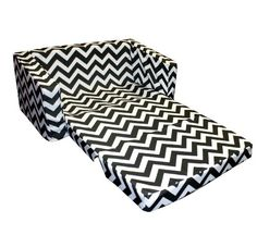 Pull out couch. Newco Kids Chevron Flip Sofa, Black and White Newco Kids,http://www.amazon.com/dp/B00D6IGJS0/ref=cm_sw_r_pi_dp_F8G1sb1V9MHVH68Y