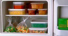 Congelar de forma adecuada alimentos y recetas.