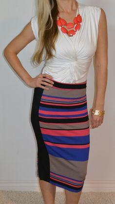 Loving this NYC pencil skirt! Flattering and modest! http://www.sexymodest.com/collections/featured/products/nyc-pencil-skirt #sexymodestboutique @modestshoppin