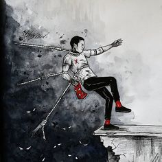 Twenty one pilots Twenty One Pilots Wallpaper, Twenty One Pilots Art, Tyler Joseph, Arte Horror, Emo Bands, The Twenties, The Dreamers, Art Drawings, Illustration Art