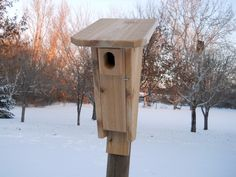 Outdoor Birdhouse  Bluebird House  by BirdhousesFromTheVal on Etsy, $22.00