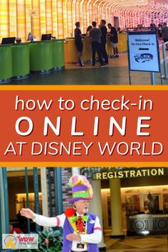 Disney World offers you 2 different ways to check-in: online and in person. Disney World Vacation Packages, Disney World Hotels, Disney Vacation Planning, Disney World Parks, Disney World Planning, Walt Disney World Vacations, Disney World Resorts, Disney Travel, Trip Planning