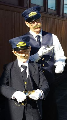 7770a1a5f65 We offer authentic-looking Train Conductor Costumes for Children and  Adults. These high-
