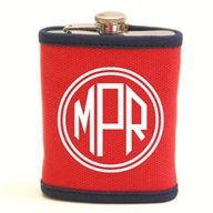 Classic Canvas Flask with Canvas Sleeve: an awesome gift idea for your best girl friend or your man!