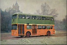 Glasgow Corporation Transport Buses Page 1 Bus Coach, Busses, Advertising Poster, Great Britain, Glasgow, Scotland, Transportation, Coaches, Trains