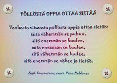 Taitoa ja tekemistä Finnish Words, Classroom Rules, Fun Activities For Kids, Teaching Kindergarten, Social Skills, Pre School, Funny Texts, Thoughts, Education