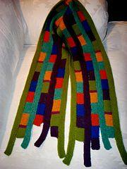 Ravelry: Marimekko Scarf pattern by Vivian Høxbro
