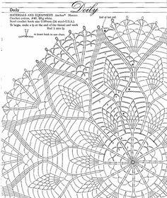 Журнал: Anchor Elegant Pineapple Lace Сrochet - Вяжем сети - ТВОРЧЕСТВО РУК - Каталог статей - ЛИНИИ ЖИЗНИ